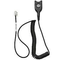 Sennheiser CSTD01 Cable Adapter - EasyDisconnect to RJ9 Headset Connector for Desktop Phones and Headsets