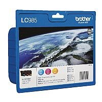Brother LC985RBWBP Tri-Colour Inkjet Cartridge