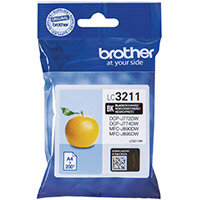 Brother Ink Cartridge Black LC3211BK