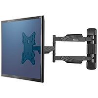 Fellowes Full Motion Single Wall Mount TV Arm 8043601