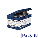 Fellowes Bankers Box System Store Maxi with Ergo Handles Pack of 10 0048901