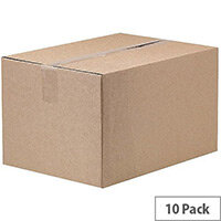 Fellowes Automatic Assembly Double Wall Box W221 x D330 x H222mm Pack of 10 3 For 2 BB810520