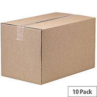 Fellowes Automatic Assembly Double Wall Box W303 x D502 x H305mm Pack of 10 3 For 2 BB810521