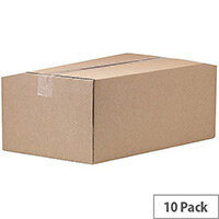 Fellowes Automatic Assembly Double Wall Box W305 x D426 x H251mm Pack of 10 3 For 2 BB810522