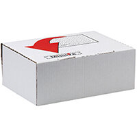 Missive Value Shoe Mailing Box Pack of 20 FOC Cadbury Heroes Variety Bag BB810559
