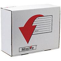 Missive Value Large Mailing Box Pack of 20 FOC Cadbury Heroes Variety Bag BB810560