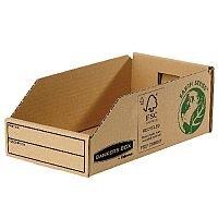 R-Kive Earth Corrugated Bin W147mm Pack 50