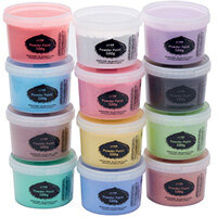 Brian Clegg Powder Paint 500g Standard Colours Pack of 12 AP18A12