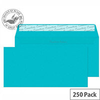Blake DL Cocktail Blue Wallet Envelopes (Pack of 250)