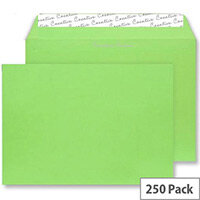 Blake Lime Green Wallet Envelopes C4 (Pack of 250)