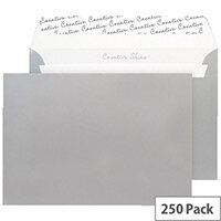Blake C5 Wallet Envelope Peel And Seal 130gsm Pack of 250 Metallic Silver 312