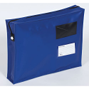 Tamper Evident Full Gusset Mail Pouch Blue 457x330x76mm