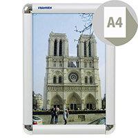 Franken A4 Aluminium Snap Frame 25mm BS0701
