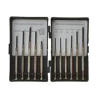 11 Piece Slotted Phillips Screwdriver Set