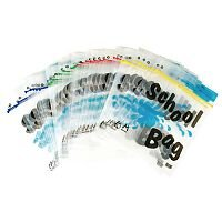 BDS Maxigrip School Bag A4 Clear HEMSBA4