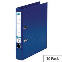 Elba A4 Blue 50mm Plastic Lever Arch File 100080907