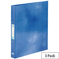Elba Classy Ring Binder A4 Blue 3 FOR 2 (Pack 2 + 1) BX810405