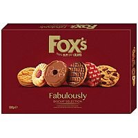 Fox's Fabulously Biscuits Selection 275g Assortment. Ideal For Any Home, Reception Area, Canteen, Office Or Even As A Gift For Holiday Seasons. Pack Of 1.