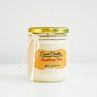 Blackberry Dew Handcrafted Soy wax Candles Small (8oz) Pack of 1