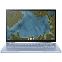 Asus Chromebook C433TA-AJ0005 Laptop - 14 inch Touchscreen Display Full HD, Intel Core M3, 4GB RAM, 64GB eMMC SSD, Laptop - Grey