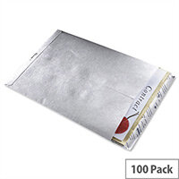 Tyvek Envelope 324 x 229mm Peel and Seal White 100 Pack