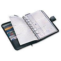 Collins Balmoral Desk Organiser Black DK4699