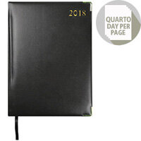 Collins Classic 2018 Day/Page Black Appointment Diary 1200V