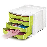 Cep Pro Gloss 4 Drawers Module Green