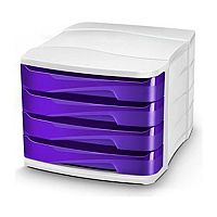 Cep Pro Gloss 4 Drawers Module Purple