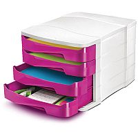 Cep Pro Gloss 4 Drawers Module Pink