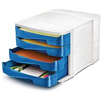 Cep Pro Gloss 4 Drawers Module Blue