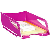 CEP Maxi Gloss Letter Tray Pink 1002200371