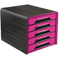 CEP Smoove 5 Drawer Module Black/Pink 1071110371