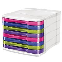 CEP Pro Happy 8 Drawers Module Unit Multicoloured