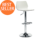 Stork Cafe Stool - White