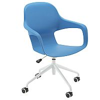 Ariel 2 Modern Design Spider Base Chair Blue