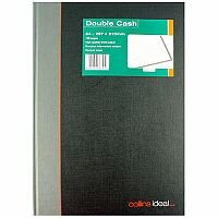 Collins Ideal Book A4 Double Cash 192 Pages 6424