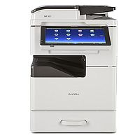 Ricoh MP305+SP/SPF Mono Laser Printer A3, Print Speed 30ppm (BW/Colour), 600x600dpi, Input Capacity (Min/Max): 260/760 Sheets, USB and Wi-Fi Connectivity