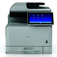 Ricoh MP C307SP 30ppm A4 Colour Laser Printer Multifunctional - Copy, Print, & Scan - 1x250 Sheet Paper Tray, USB/SD card Slot, Java card (Solutions ready), USB 2.0, Gigabit Ethernet