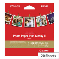 Canon Photo Paper Plus 5x5in PP201 2311B060