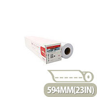 Canon Plain Uncoated Red Label Plotter Paper 594mmx175m (2 Pack)