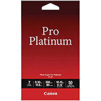 Canon Pro Platinum Photo Paper 4 x 6 Inch Pack of 50 2768B014