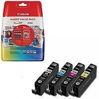 Canon CLI-526 BK/C/M/Y ( 4540B017 ) 4 Colours: Black, Cyan, Magenta, Yellow Ink Cartridge Original