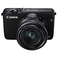 Canon EOS M10 CSC Camera with 15-45mm Lens Black 0584C039AA