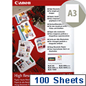 A3 Canon High Resolution Inkjet Printer Paper 106gsm Pack of 100