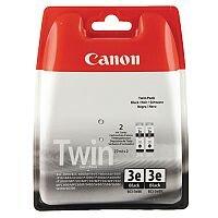 Canon BCI-3 BK ( 4479A287 ) Black Ink Cartridge Original Pack of 2