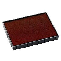 Colop Replacement Ink Pad E/55 to suit Colop Printer P55, P55 Dater Rubber Stamps Red