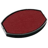 Colop Replacement Ink Pad E/O 55 To Suit COLOP Printer Oval 55 & Printer Oval 55 Dater Rubber Stamps Red