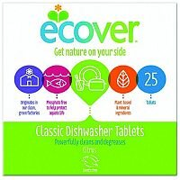 Ecover Dishwasher Tablets Environmentally Friendly Pack 25 Ref VEVDT