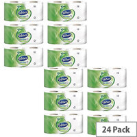 Triple Velvet White 3-Ply Toilet Paper Rolls (Pack of 24) 1102088